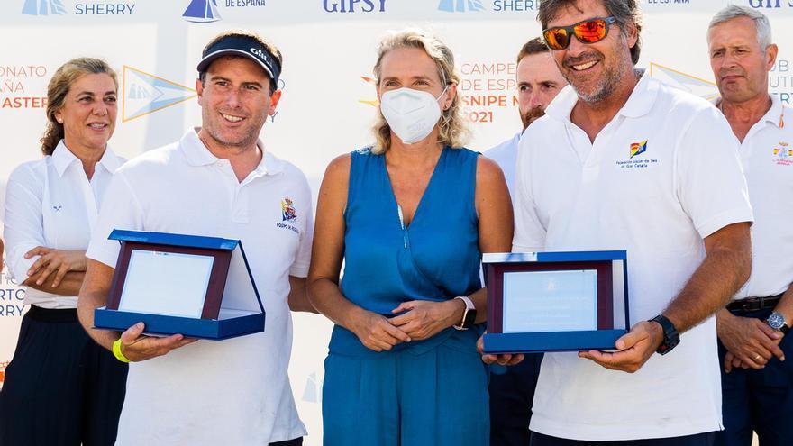El dúo León/Del Castillo segundos en el Campeonato de España de Snipe Master