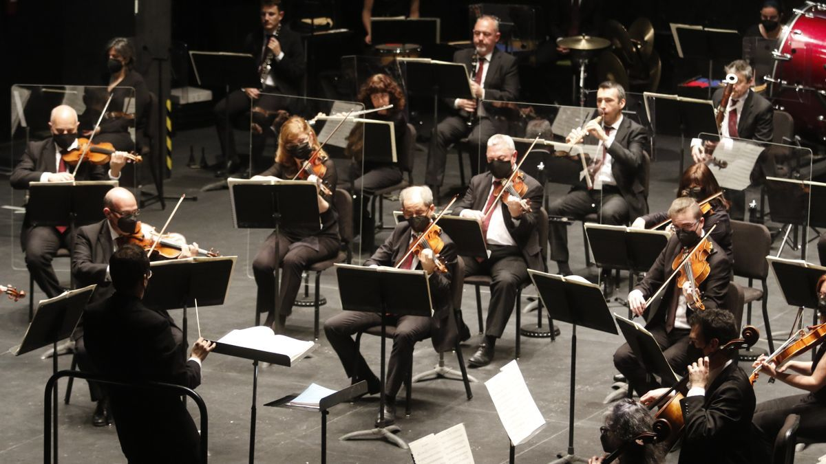 La Orquesta de Córdoba, en uno de sus últimos conciertos.