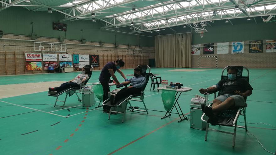 La campaña de donación de sangre se traslada el lunes a Toro