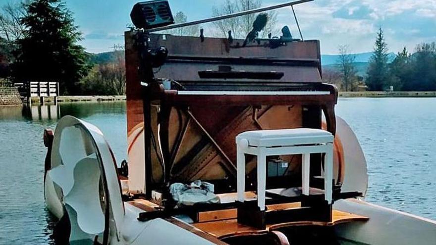 Música de agua para festejar el Xacobeo