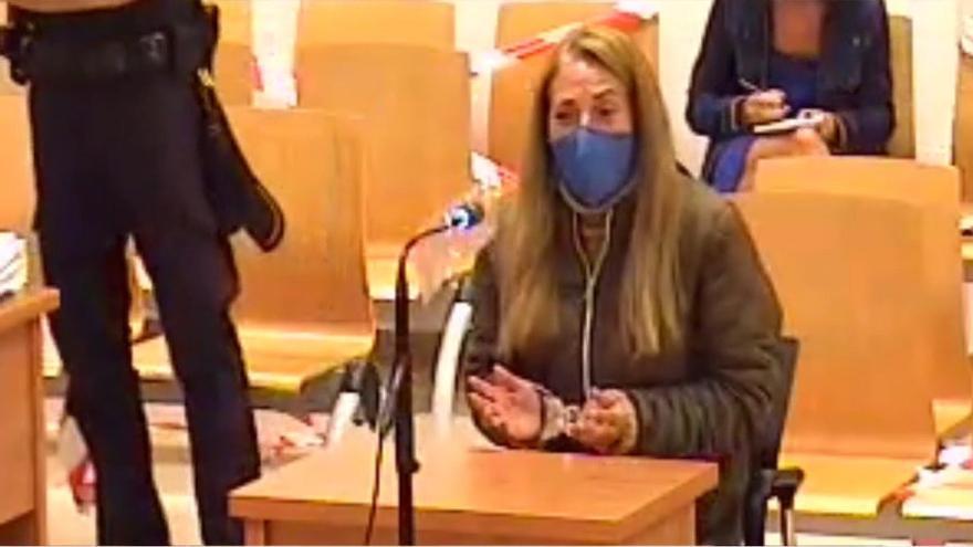 """La viuda negra de Alicante: """"En la cárcel me dicen que puede ser un ajuste de cuentas por drogas"""""""