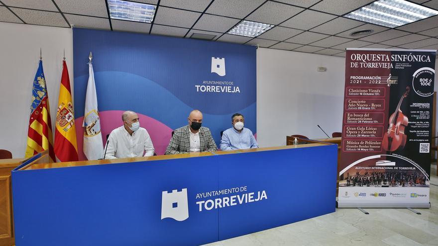 La Orquesta Sinfónica de Torrevieja presenta su programa para la temporada 2021-2022