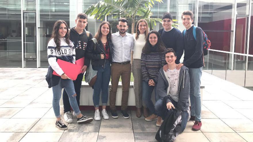 El Claret introduce a sus alumnos en el mundo laboral