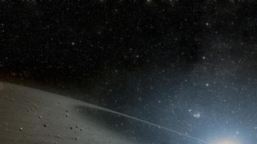 Las amenazas de meteoritos no proceden del cinturón de asteroides