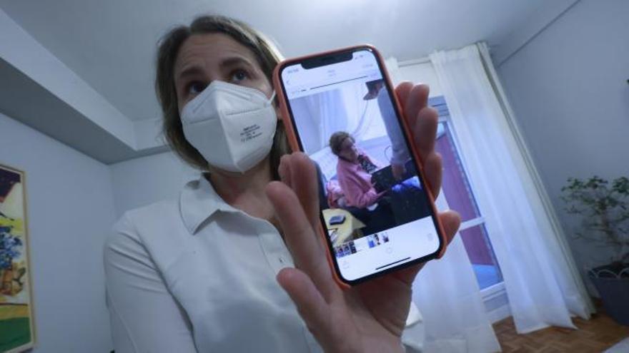 «Iaiagram» la xarxa social que utilitza una àvia de Burgos per parlar amb els seus nets