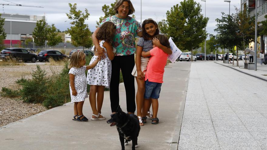 Una familia numerosa cuenta cómo hace malabares para cuadrar sus cuentas