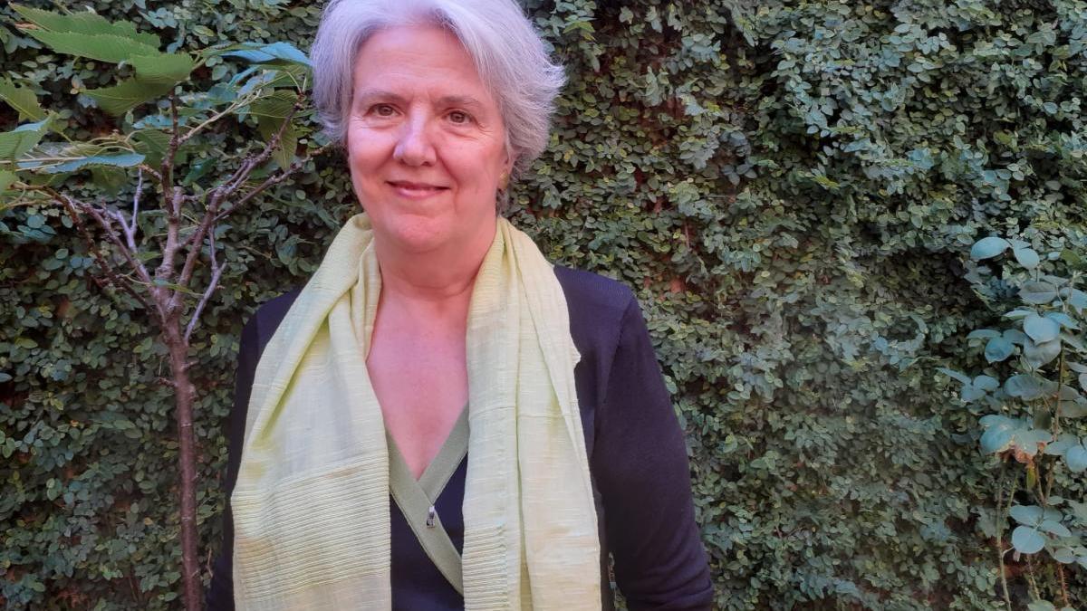 L'escriptora Maria Mercè Roca