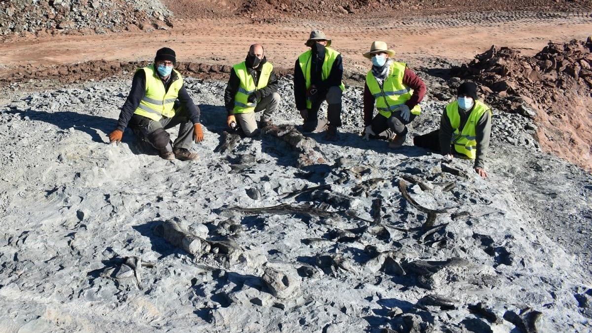Descubre la mina que rescata la historia de los dinosaurios y los visigodos en Morella
