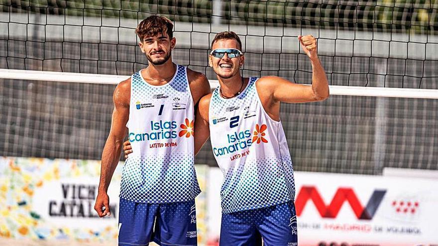 Brito y García, a por el oro en el Nacional Juvenil de playa