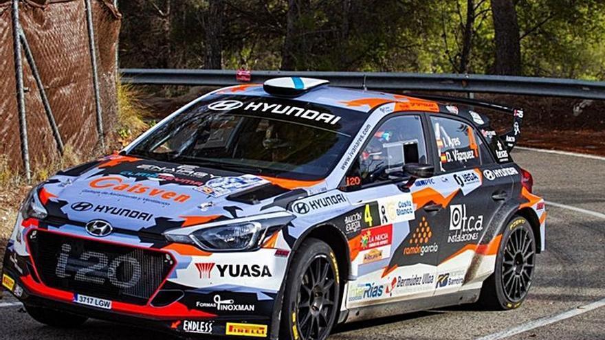 Iván Ares triunfa en casa y se impone en el Rally de Ferrol