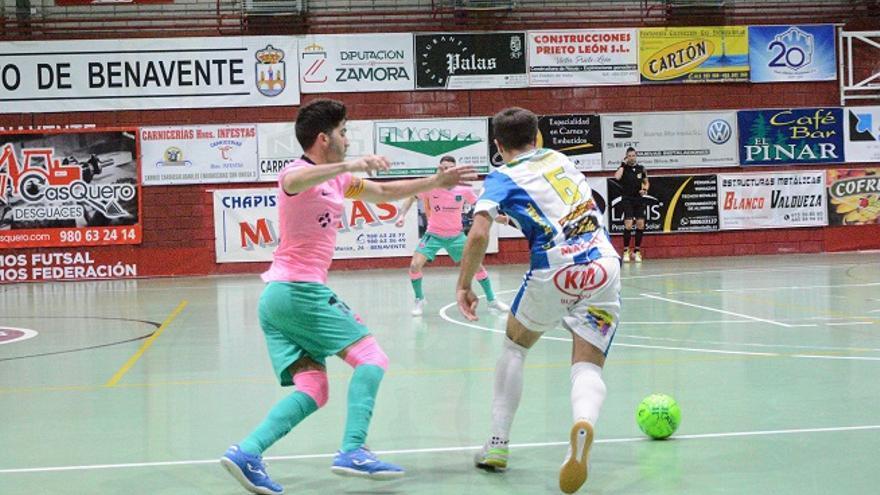 David Novoa, del Atlético Benavente, de nuevo con la selección Sub-19