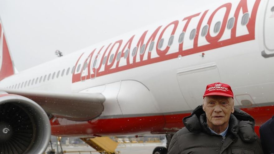 Niki Lauda, ingresado en Austria tras contraer un virus en Ibiza