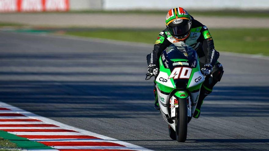 Binder logra en Montmeló su primera victoria en Moto3