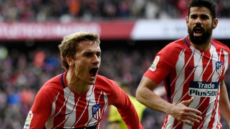 Griezmann mantiene vivo el sueño del Atlético
