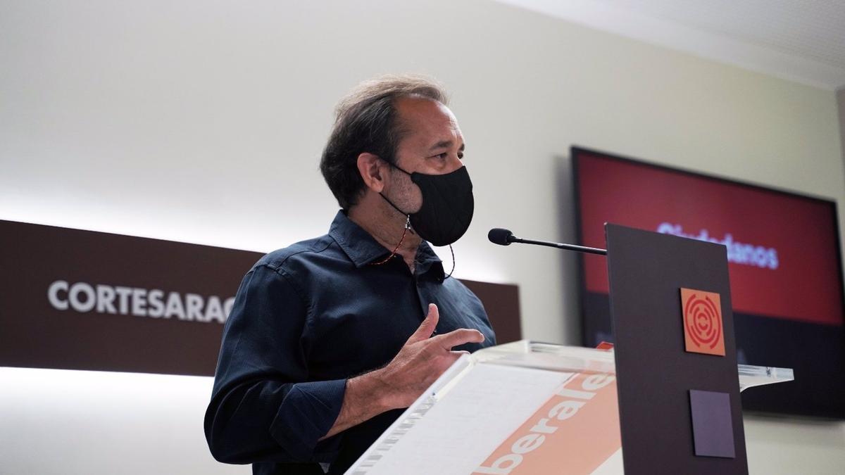 José Luis Saz, diputado de Hacienda de Ciudadanos.