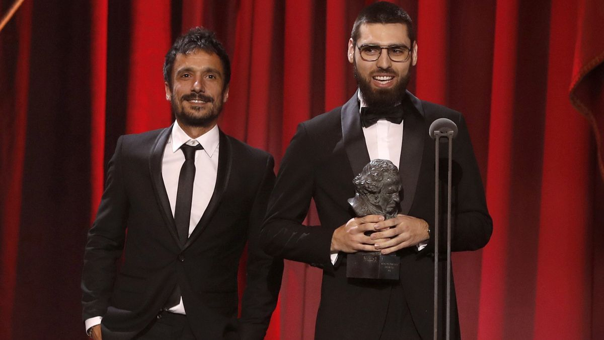 Los realizadores Carles Bover y Julio Pérez.