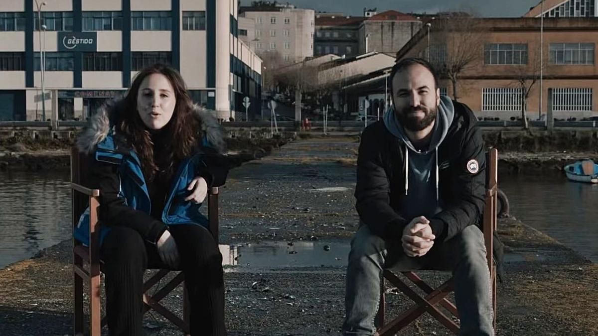 Cris Iglesias y Álvaro Gago,  hablando de '16 de  decembro'.   | // LO