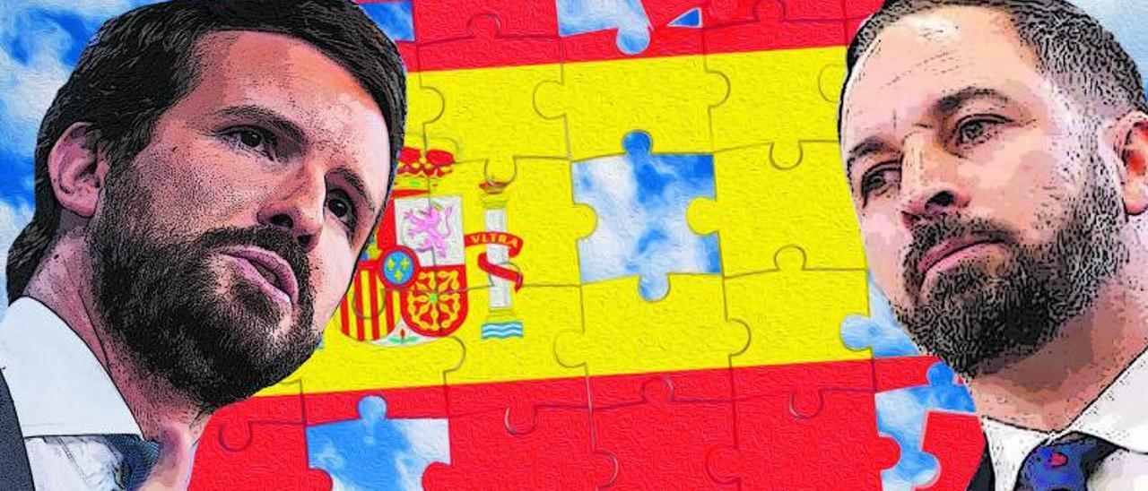 Impotencia en la derecha: PP y Vox no suman en España