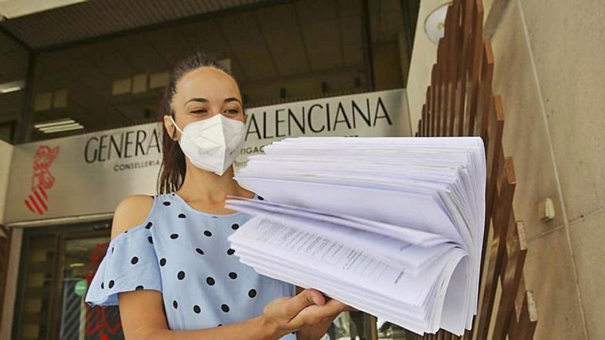 Más de 300 familias reclaman seguir con la jornada continua el colegio Gabriel Miró