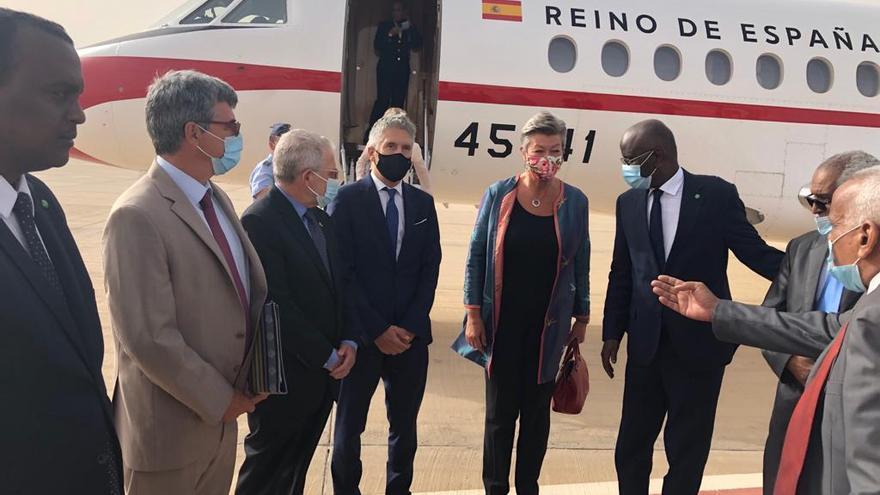 Marlaska traslada a Mauritania su preocupación por la migración a Canarias