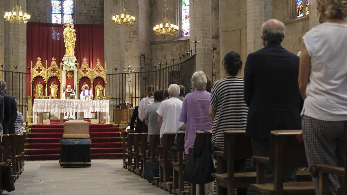 El funeral s'ha fet aquest dimecres a la basílica de ka Seu