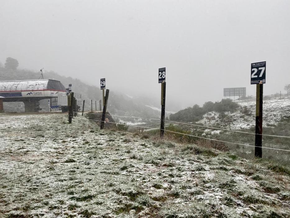 Escuela de esquí de Fuentes de invierno
