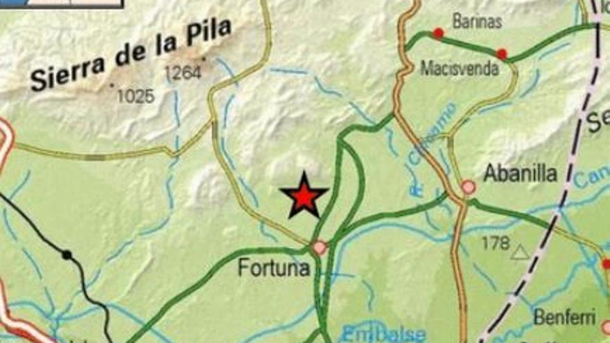 Tiembla el suelo de Fortuna con un terremoto de 3.4