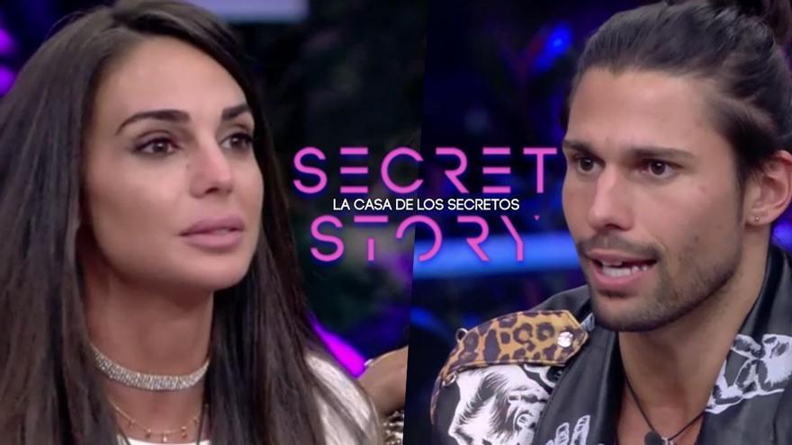 'Secret Story': Luca y Cynthia se salvan y Lucía descubre el secreto de Cristina Porta