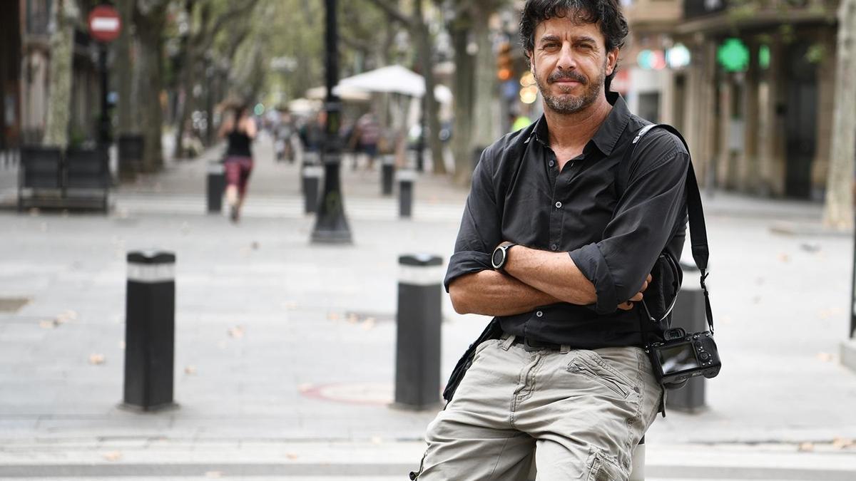 El fotògraf Emilio Morenatti