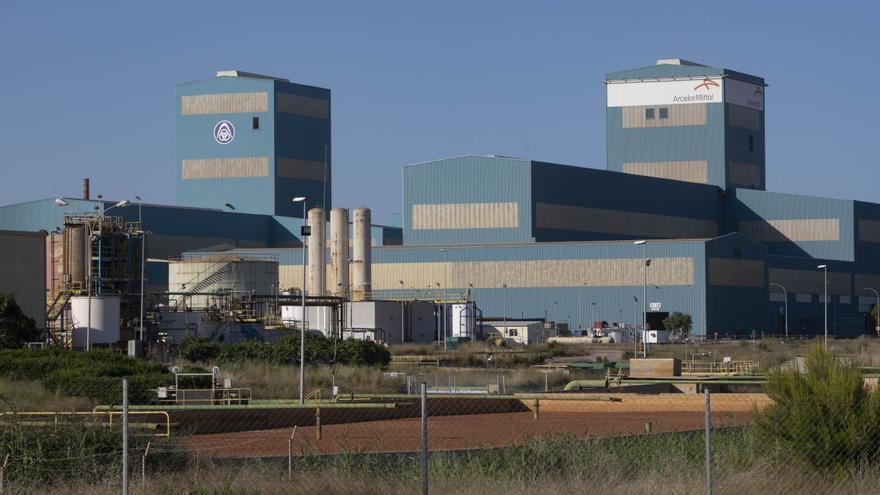 ArcelorMittal Sagunt rebajará la producción en noviembre