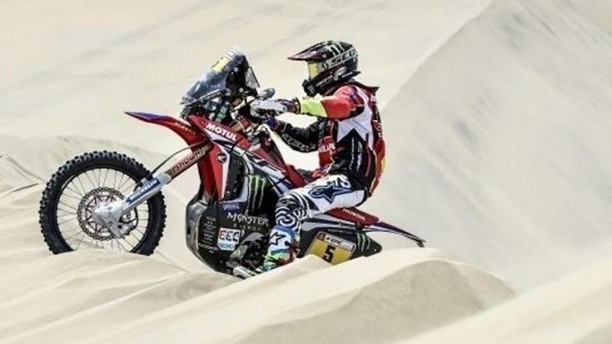 Despres i Barreda marquen el terreny en la primera etapa seriosa del Dakar
