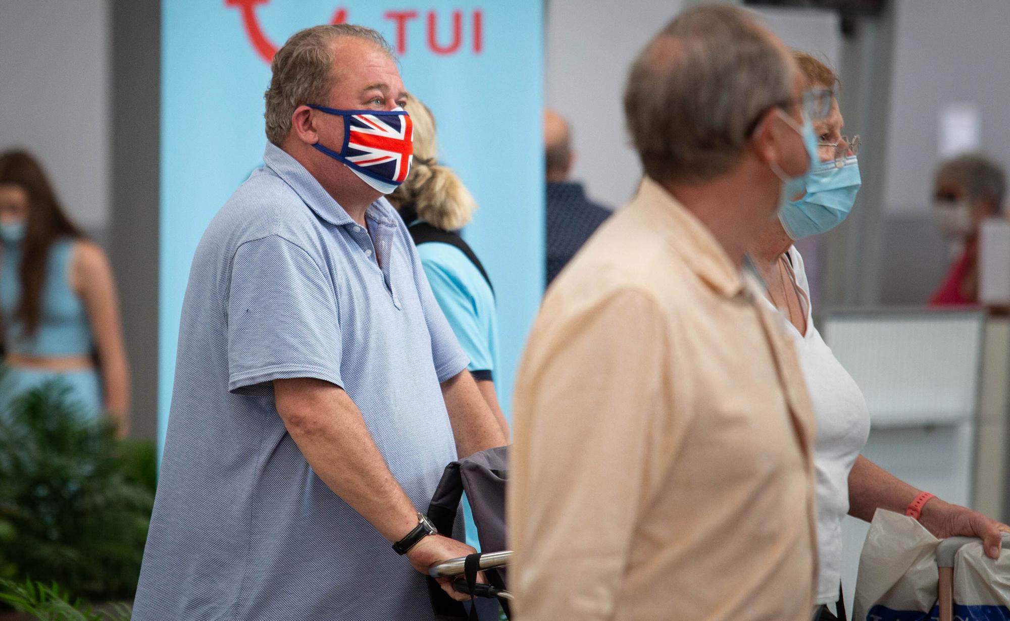 Llegada de británicos