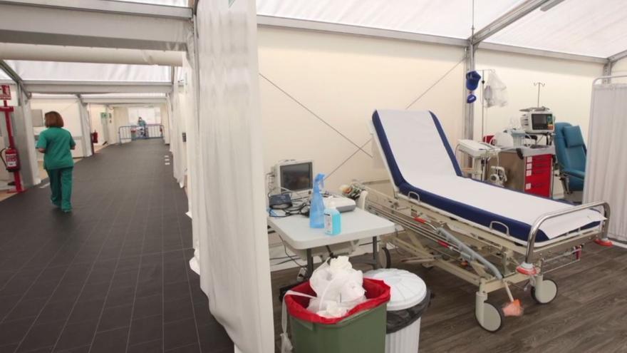Así funciona el hospital de campaña de Alicante