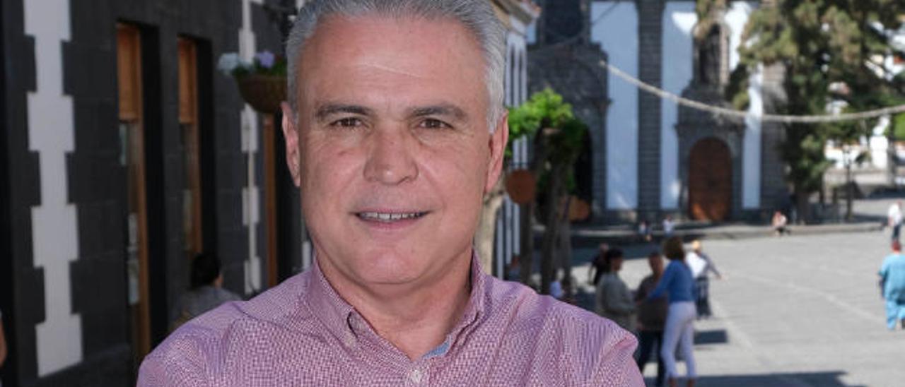 Gonzalo Rosario, alcalde del municipio de Teror.