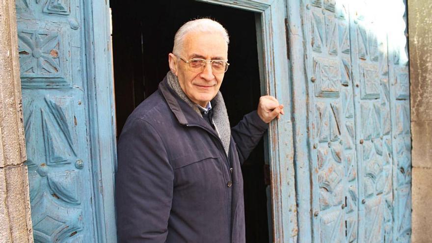 Sorpresa en Cudillero por la precipitada marcha del párroco, José Pérez Barcia