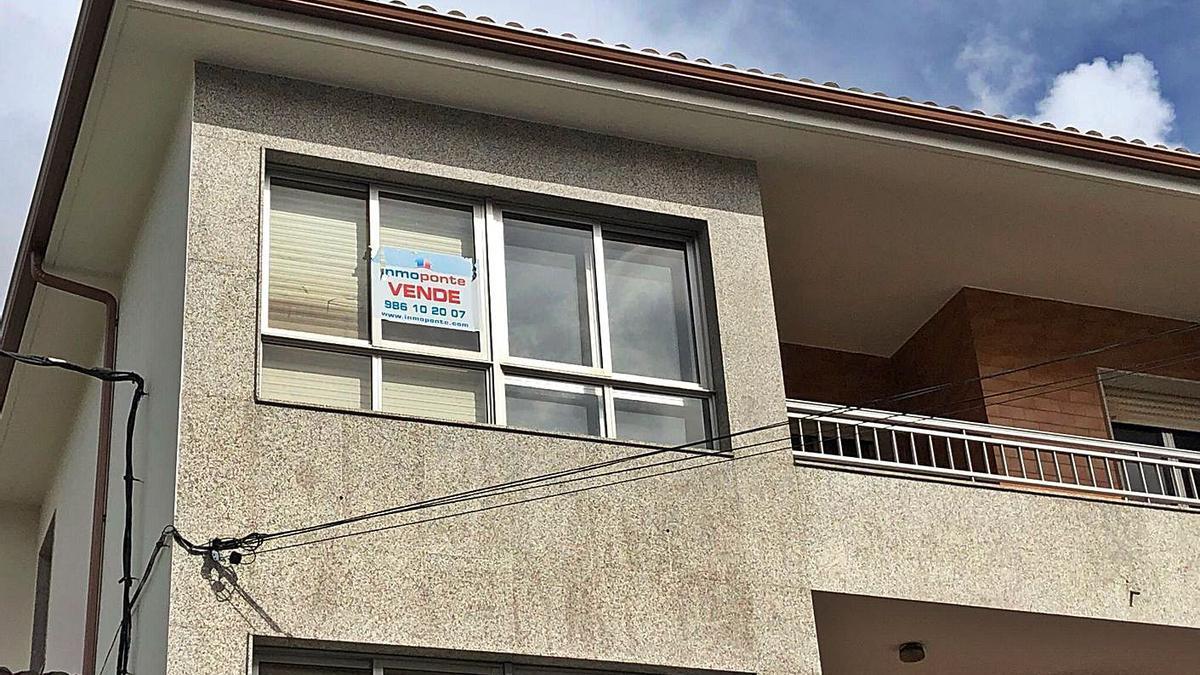 Una vivienda a la venta en Forcarei.