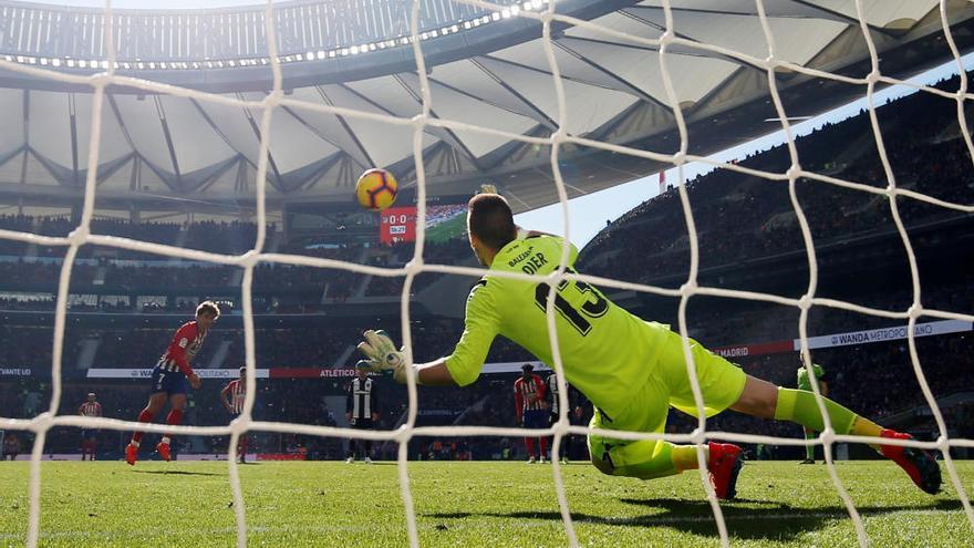 Un penalti condena al Levante