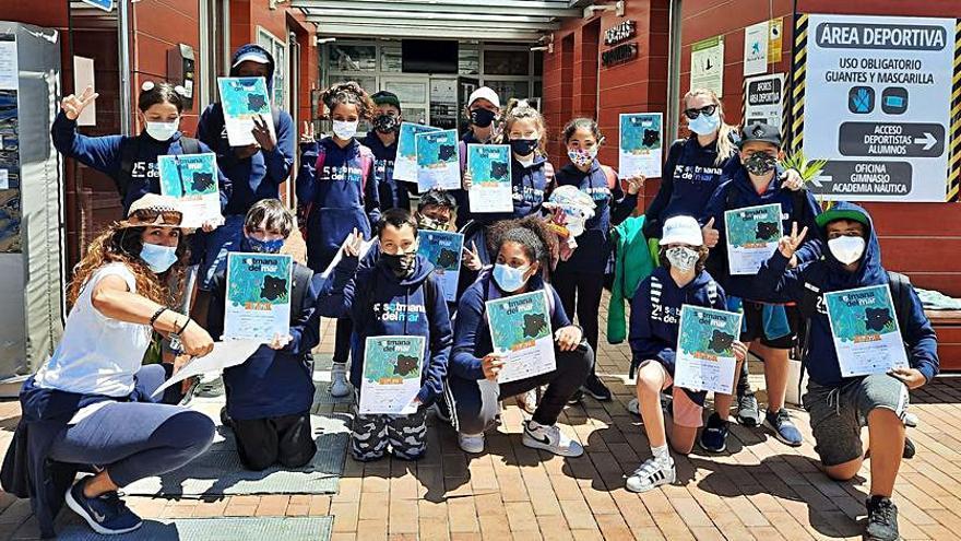 La 'Setmana del Mar' cierra con la participación de 300 escolares