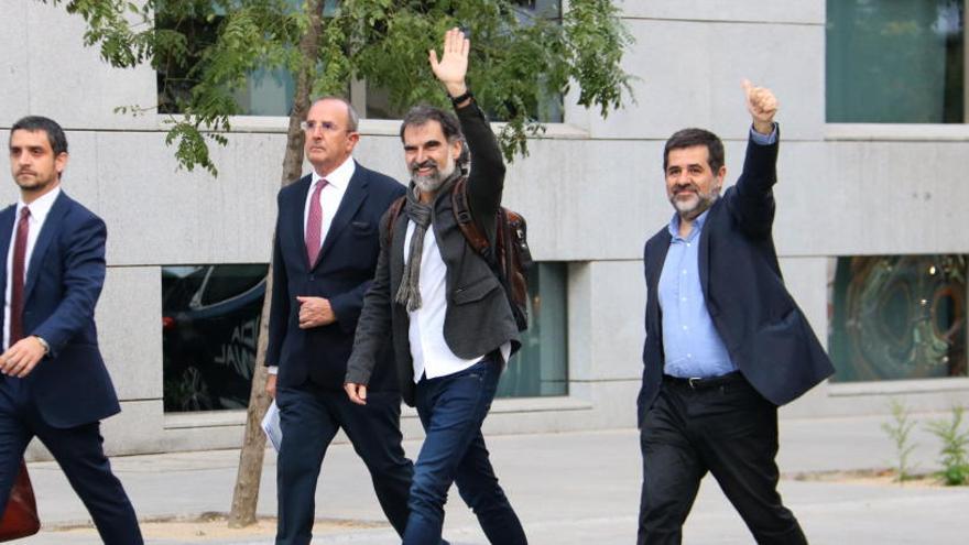 El clam de Jordi Sànchez contra la violència