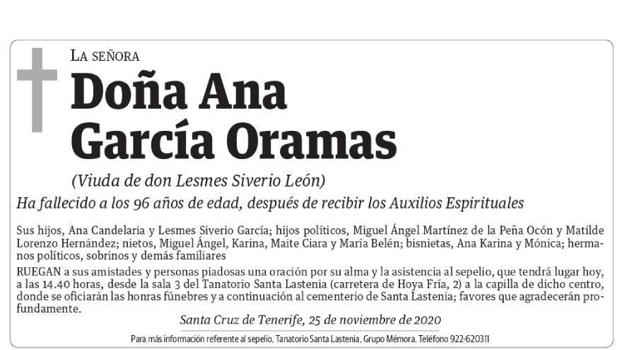 Ana García Oramas