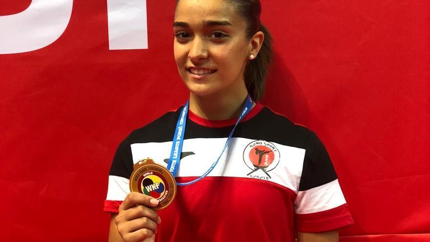 Paola García, campeona de la Youth League de Croacia