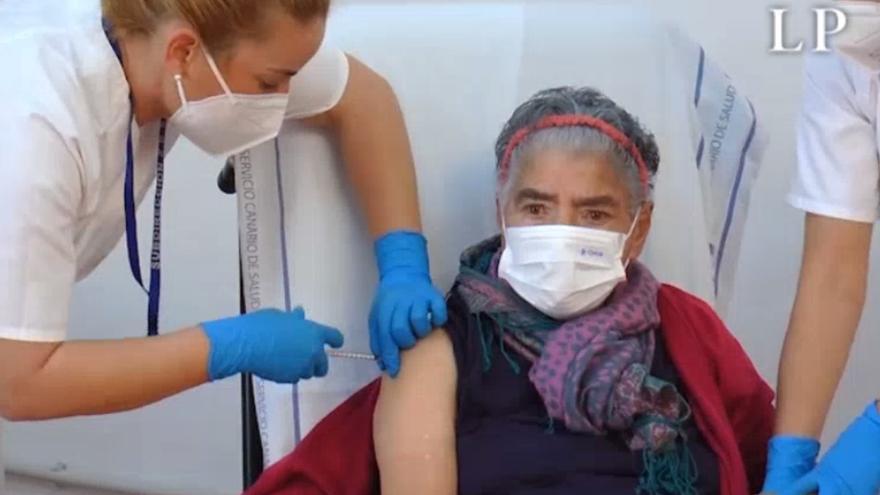 Inicio de la vacunación contra el Covid-19 en Fuerteventura