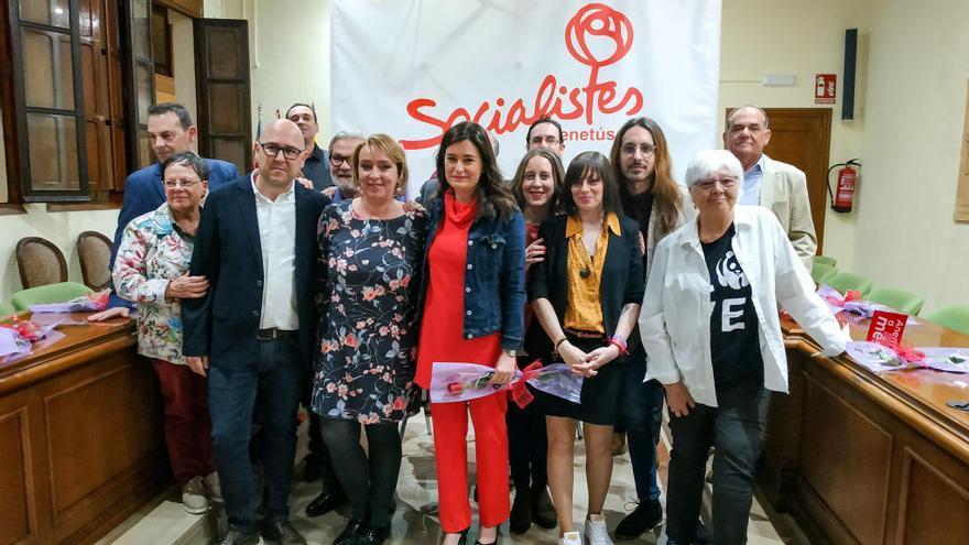 Benetússer arropa a la candidata socialista Eva Sanz