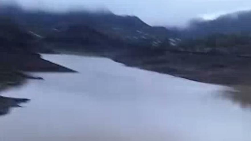 Así se ha llenado la presa de Chira por las lluvias