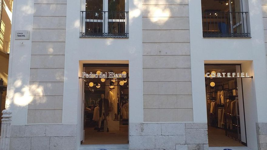 Cortefiel inaugura nueva tienda en la Alameda Principal