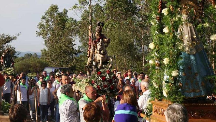 A Grela incorpora la imagen de San Xoán de Liripio a su fiesta del 2 y 3 de septiembre