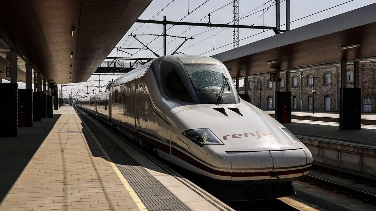 Tren de Alta Velocidad en Zamora.