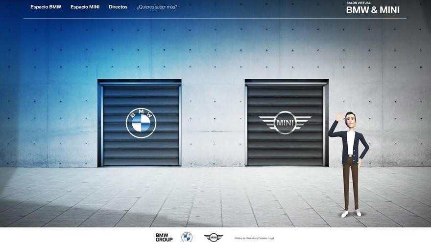 BMW y Mini abrirán el primer salón del automóvil virtual en España