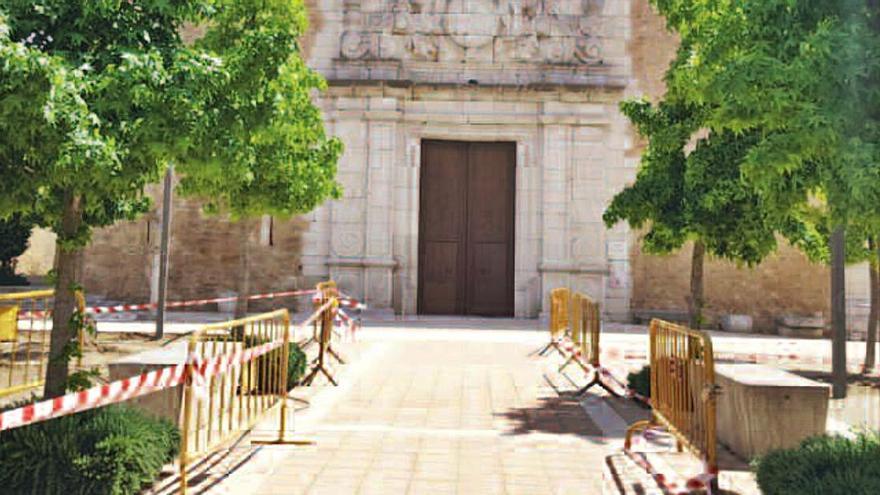 Comença l'ampliació de la plaça de l'Església de Borrassà