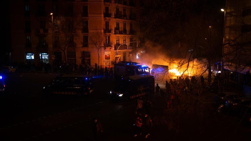 Ciudad en llamas